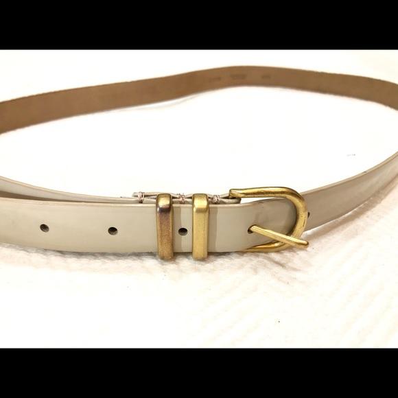 J. Crew Accessories - J.CREW Genuine Leather MEDIUM Belt